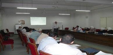 سوريا - دمشق:  المدرب أحمد خير السعدي يشارك في تدريب دورة ادارة أنظمة الصحة والسلامة