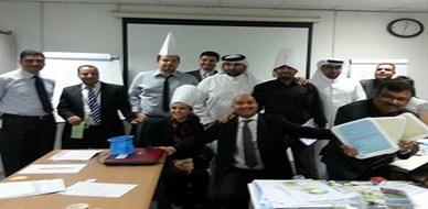 قطر - الدوحة: إختتام دورة مهارات المكاتبات الإدارية  للمدرب هشام زكي