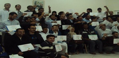 Morocco - Dakhla: Closure of the diploma course in NLP for trainer Mourad Jlali