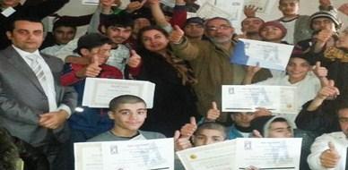 سوريا - اللاذقية: أحلام وأهداف خلف القضبان دورة متميزة للمدرب محمد عزام القاسم