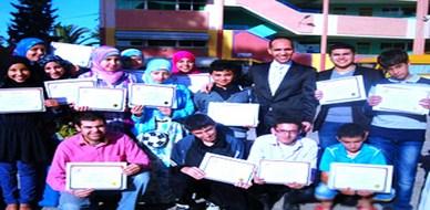 المغرب - المدينة الخضراء: شباب المعالي يحتفلون بتخرجهم مع المدرب أ.عبد الغني العزوزي