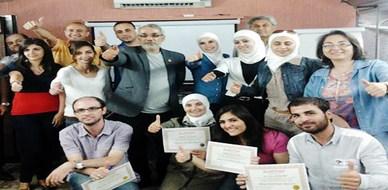 """سوريا - دمشق: اختتام دورة مميز في """"فن التفاوض"""" للمدرب الخبير محمد عزام القاسم"""