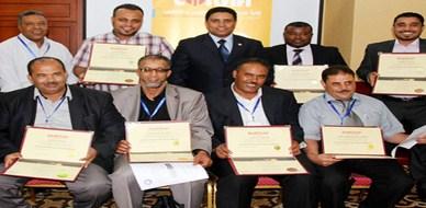 """ليبيا - طرابلس الغرب: اختتام دورة مميزة حول """"أمن المرافق والمنشآت الحيوية"""" للمدرب جمعة محمد سلامة"""