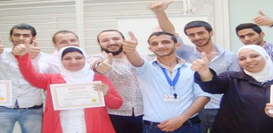 """سوريا - دمشق: اختتام دورة متميزة في """"فن التفاوض"""" للمدرب عبد الكريم حميدان"""
