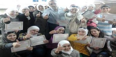 """سوريا - دمشق:  اختتام دورة جديدة في """"مهارات الحاسب ICDL"""" للمدرب الخبير محمد عزام القاسم"""