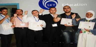 """سوريا - دمشق: كوكبة جديدة من المتدربين تتألق في دورة """"دبلوم دراسات الجدوى الاقتصادية""""  للمدرب محمد بدر كوجان"""