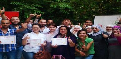 """سوريا - دمشق: اختتام دورة مميزة حول """"الأنماط الشخصية"""" للمدرب أحمد خير السعدي"""