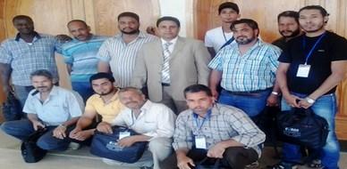 ليبيا - الزاوية: اختتام دورة مميزة حول أساسيات السلامة الصناعية للمدرب جمعة محمد سلامة