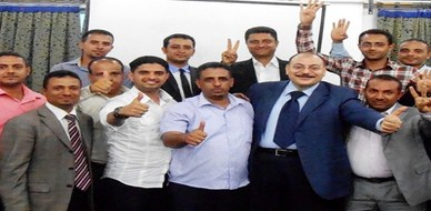 """اليمن - صنعاء: ذكاء البيع يزداد في دورة """"البيع بذكاء  """"Selling Smarter مع المدرب د. سعيد قمحة"""