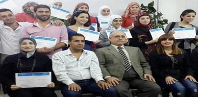 """سوريا - اللاذقية : اختتام دورة  مميزة حول """"لغة الجسد"""" للمدربة مي توفيق نويلاتي"""