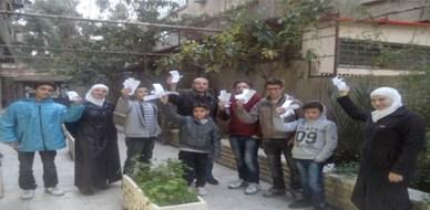 سوريا - دمشق: اختتام دورة مهارات التواصل لليافعين مع المدرب همام هندي