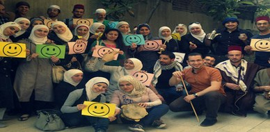 """سوريا - دمشق: """"حارتنا غالية يا شام"""" دورة لغة الجسد للمدرب محمد زياد الوتار بنكهة دمشقية أصيلة"""