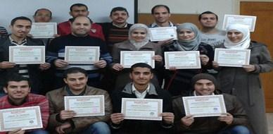 سوريا - دمشق: إنتهاء دورة الصحة والسلامة المهنية في المنشآت للمدرب أحمد خير السعدي