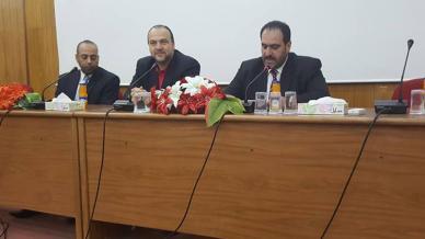 بمناسبة الهجرة النبوية الشريفة، استضافة كريمة من مديرية أوقاف وغرفة تجارة إربد للمدرب أول عبد الفتاح السمان