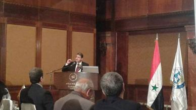 دمشق تستضيف المؤتمر العلمي في الإدارة والتمويل والاقتصاد ومشاركة مميزة للمدرب علاء صالحاني