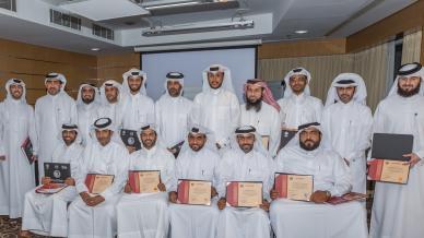 المدرب أول حسين السيد في دورة حوكمة المؤسسات الشبابية