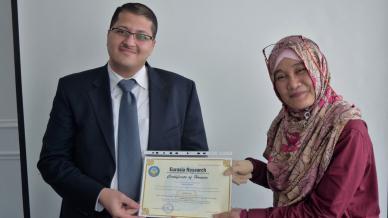 جامعة University of Technology Malaysia ومشاركة للدكتور علاء صالحاني في المؤتمر الدولي للإدارة والتمويل