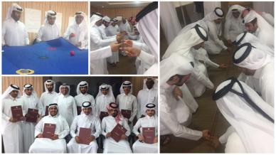 دورة العمل الجماعي وبناء فرق العمل بقيادة المدرب حمد ساكت الشمري