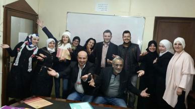 ختام دورة لغة الجسد  ( المستوى الثاني ) للمدرب همام هندي في دمشق
