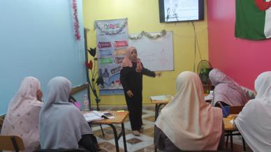 اختتام دورة دبلوم  البرمجة اللغوية العصبية في العاصمة الجزائر مع المدربة عائشة لزنك