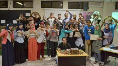 المملكة المغربية - وجْدة: أمسية بعنوان التسويق الذاتي للمدرب محمود باي