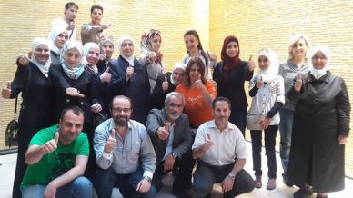 ختام مميز لدورة البرمجة اللغوية العصبية بقيادة الاستشاري محمد عزام القاسم