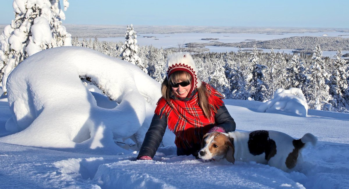 البرد في فنلندا