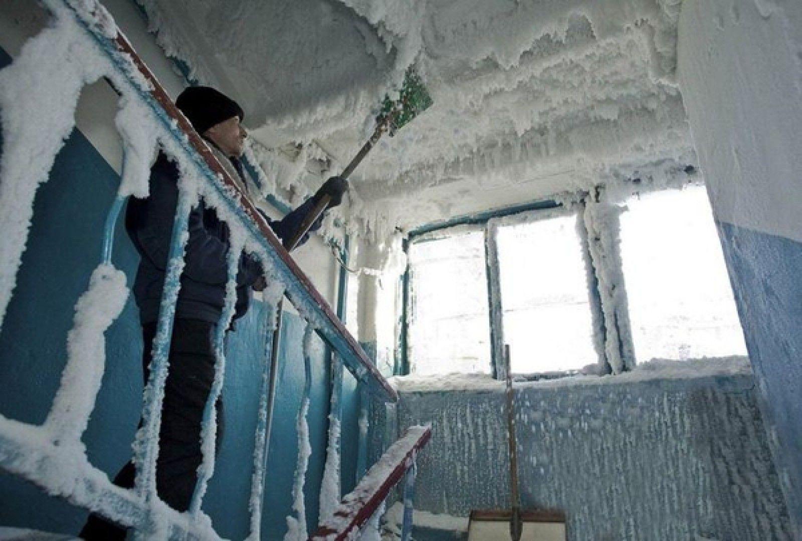 البرد في كازاخستان